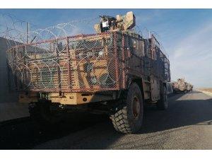 """MSB: """"Fırat'ın doğusunda Türk ve Rus askeri unsurlarının Ayn el Arap bölgesinde dörder araç ve İHA'larla iştirak ettiği 13'üncü ortak kara devriyesi planlandığı gibi icra edildi."""""""