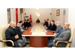 Vali Arslantaş, Erzincan STK platformu ile biraraya geldi