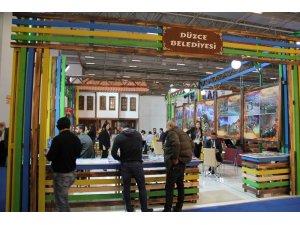 Düzce Belediyesi, Travel Turkey İzmir Fuarında şehri tanıtıyor