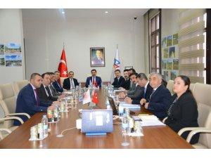 Vali Mustafa Masatlı Başkanlığında SERKA 69'ncu yönetim kurulu toplantısı yapıldı