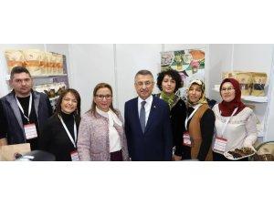 Alaşehir'in yöresel ürünleri Ankara'da sergilendi