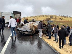 Mardin'de trafik kazası: 1'i ağır 4 yaralı