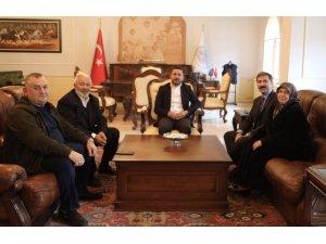 Milletvekili Sarıkaya'dan Belediye Başkanı Arı'ya ziyaret