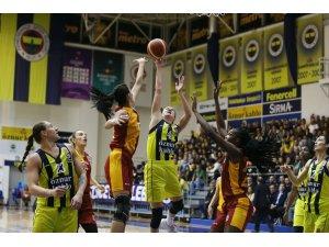 Kadınlar Basketbol Süper Ligi: Fenerbahçe: 69 - Galatasaray: 66