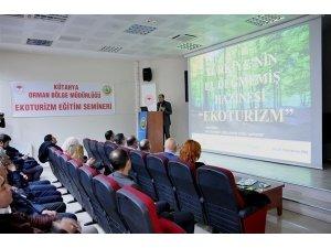Kütahya'da  Ekoturizm eğitim semineri