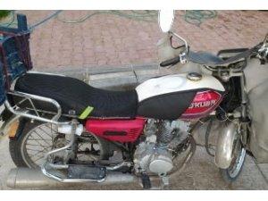 Çalıntı motosiklet ele geçirildi