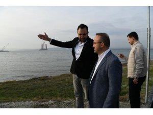 Bülent Turan'dan 1915 Çanakkale Köprüsü'ne ziyaret
