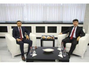 Vali Yardımcısı Tabakçıoğlu, Rektör Karacoşkun'la bir araya geldi