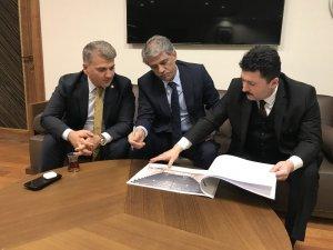 Başkan Avcı Ankara'dan müjde ile döndü