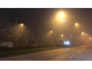 Bursa'da yoğun sis