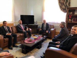 İl Tarım Müdürü Aygül'den Başkan Aydın'a Ziyaret