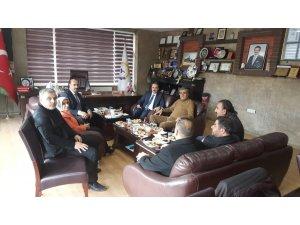SGK ve İŞ-KUR heyetinden TATSO ziyareti