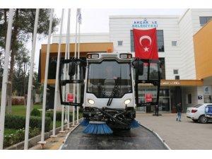 Akçakale Belediyesi araç filosunu güçlendirmeye devam ediyor