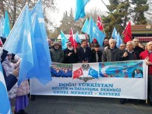 """Doğu Türkistan Meclisi Başkanı Seyit Tümtürk: """"Doğu Türkistan'da eziyet görenlerin Dünya İnsan Hakları Günü'nden haberleri bile yok"""""""
