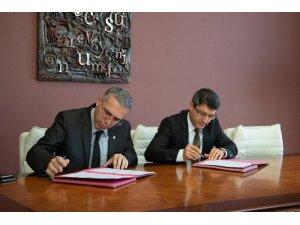 """Şeyh Edebali Üniversitesi'nde """"Gözlem İstasyonu Protokolü"""" imzalandı"""