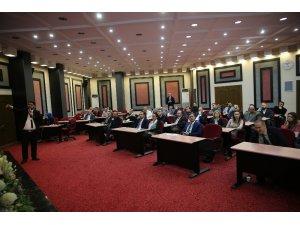 Melikgazi çalışanlarına hizmet içi eğitim semineri