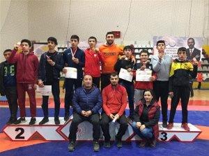 Anadolu Yıldızlar Ligi Güreş Grup Müsabakaları