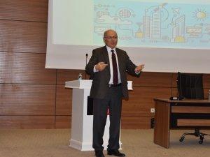 """OMÜ'de """"Dijital Dönüşüm ve Ekonomik Etkiler"""" konferansı"""