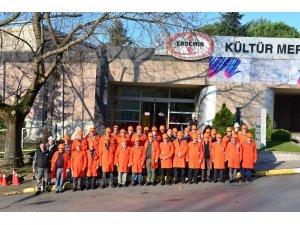 Kdz. Ereğli'deki Köy Muhtarları ERDEMİR'i gezdi