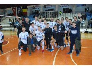 CEV Challenge kupasında Belçika ekibi set vermedi