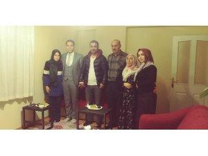 TOKİ Prof. Dr. Fuat Sezgin Anadolu Lisesinden ev ziyaretleri