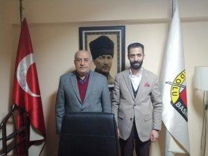 ABB Erzurum Şube Başkanı Mehmet Musa Çakır, ABB Genel Merkezi'ni ziyaret etti