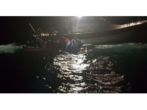 Enez açıklarında 30 düzensiz göçmen yakalandı