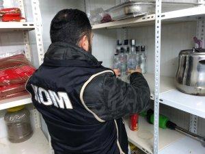 Aksaray'da alkollü mekanlar denetlendi
