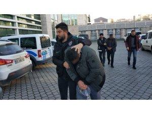 Samsun'da uyuşturucudan 3 şahıs adliyede