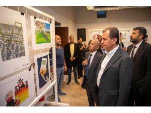 Büyükşehir'in Dünya İnsan Hakları Günü etkinlikleri, karikatür sergisi ile başladı