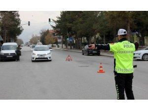 Erzincan'da trafik kazaları yüzde 23 oranında azaldı