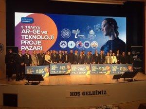 3. Trakya Proje Pazarı ArGe ve Teknoloji Projeleri Yarışması Kırklareli'de