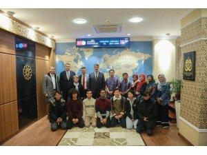 Endonezya'nın Ahmet Dahlan Üniversitesinden Rektör Polat'a ziyaret