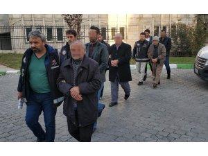 Samsun silah kaçakçılığından 5 kişi adliyeye sevk edildi