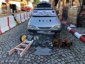 İzmir'de trafo hırsızlığına jandarma 'dur' dedi