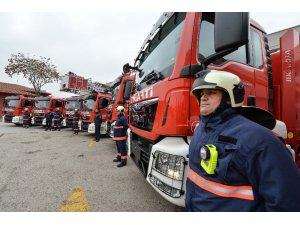 Ankara İtfaiyesi'ne 7 yeni araç
