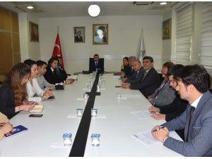 Bitlis'te Çocuk İzlem Merkezi toplantısı gerçekleştirildi