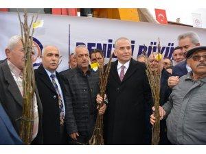 """Başkan Zolan: """"Denizli'nin Türkiye'de en çok ceviz üreten il sıralamasında olmasını istiyoruz"""""""