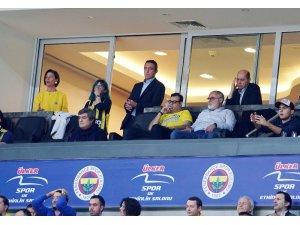 Ali Koç, maçı locasından takip etti