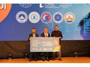 """ÇOMÜ, """"Ar-ge ve Teknoloji Projeleri Yarışması""""nda birinci oldu"""