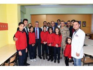 Özel öğrenciler için destek eğitim odasının açılışı yapıldı