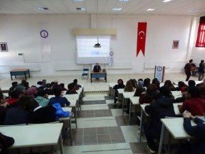 Hisarcık'ta TÜBİTAK Bilim Söyleşisi