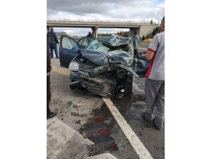 Polatlı'da trafik kazası: 1 ölü