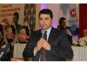 DP lideri Uysal Afyonkarahisar'da kongreye katıldı
