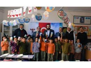 TEKAD'ten ilkokula Tutum Yatırım ve Yerli Malları Haftası ziyareti