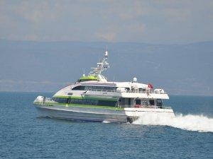 Bursa-İstanbul deniz otobüsü seferlerinde 6 iptal daha