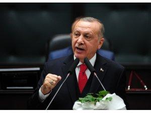"""Cumhurbaşkanı Erdoğan: """"Hafter Moskova'dan kaçtı"""""""