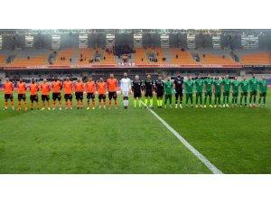 Ziraat Türkiye Kupası: Medipol Başakşehir: 0 - GMG Kırklarelispor: 0 (İlk yarı)