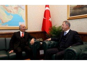 Bakan Akar, Irak Ankara Büyükelçisi Janabi'yi kabul etti