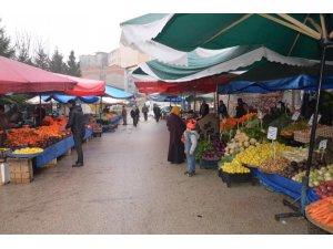 Bilecik'te semt pazarları kuruldu